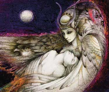 Isis and Osiris, by Susan Seddon Boulet